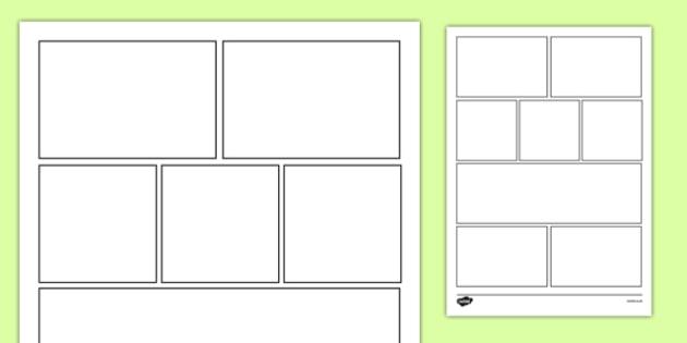 8 Box Storyboard Template - 8 box, storyboard, template, story, story books, story board