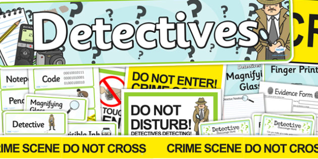 Detective Role Play Pack - detectives, police, roleplay, pack