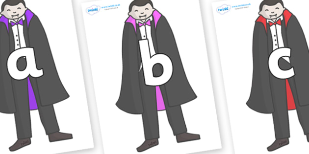 Phoneme Set on Vampires - Phoneme set, phonemes, phoneme, Letters and Sounds, DfES, display, Phase 1, Phase 2, Phase 3, Phase 5, Foundation, Literacy