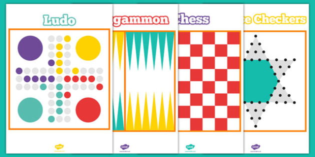 Traditional Game Board Template Pack - printable, game, activity, class, board, template, pack