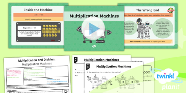 PlanIt Y4 Multiplication and Division Lesson Pack Mental Multiplication and Division (2)