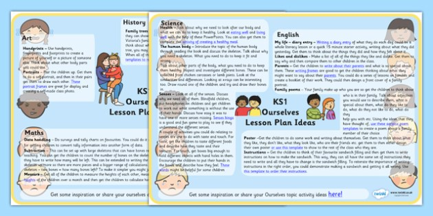 Ourselves Lesson Plan Ideas KS1 - ourselves, lesson, plan, lesson plan, lesson ideas, ideas, ourselves ideas, KS1 ourselves, KS1, KS1 lesson plan ideas