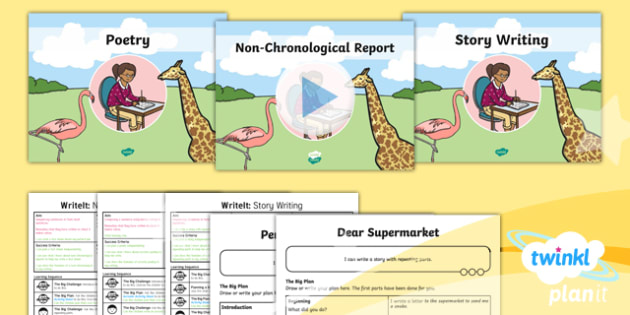 PlanIt Y1 Animals: to Support Teaching on Dear Zoo WriteIt Pack - Dear Zoo, animals, stories, repeating parts, story writing, non-chronological report, poetry, assessment, test, big write