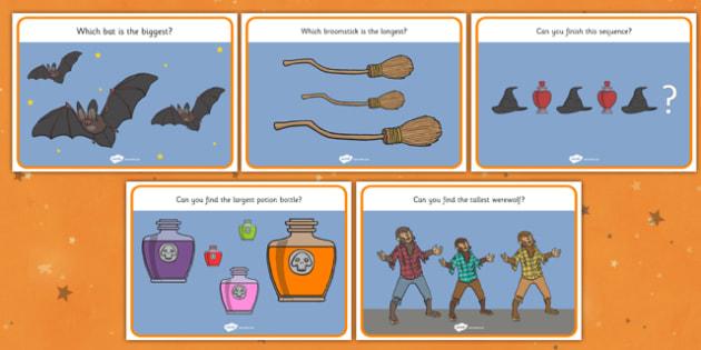 Halloween Challenge Posters - Halloween, worksheet, activity, pumpkin, witch, bats, topic, scary, Hallowe'en