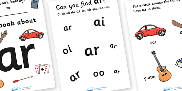 My Phase 3 Digraph Workbook (ar) - Digraph Formation, Phase 3, phase three, digraphs, handwriting, letter formation, writing practice, foundation, letters, writing, learning to write, DFES letters and sounds