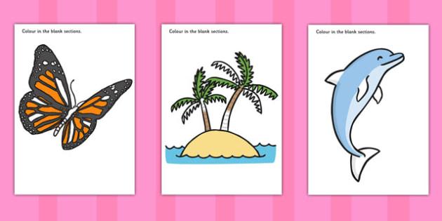 SEN Colouring Sheets - sen, colouring, colour, sheet, education