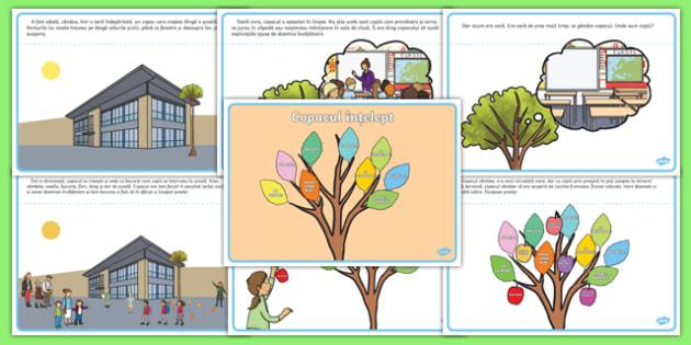 Copacul înțelept Poveste-Romanian