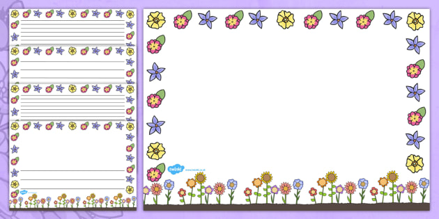 Australia Landscape Mother's Day Page Borders
