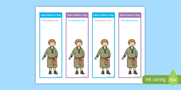 Saint Andrew's Day Bookmarks-Scottish
