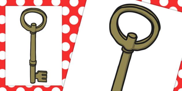 Large A3 Key Cut Out - cutting, locks, keys, key, locked, big
