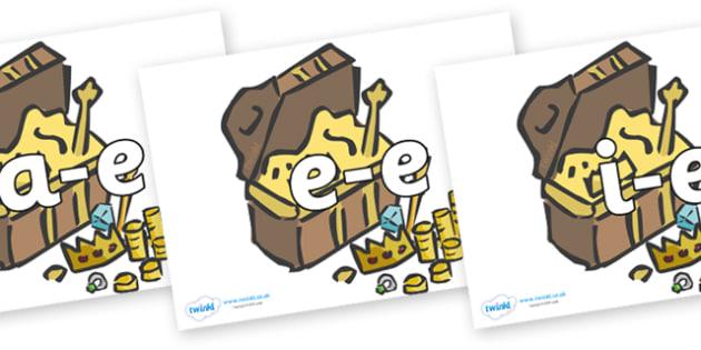 Modifying E Letters on Treasure Chests - Modifying E, letters, modify ...