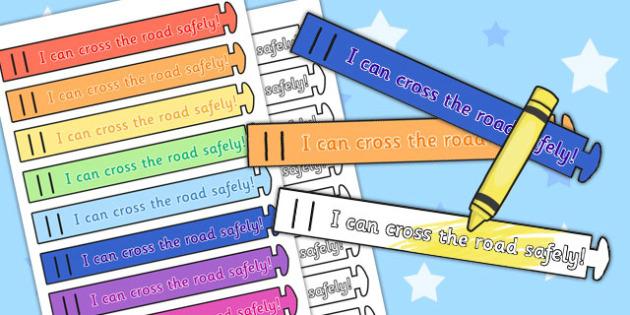 Road Safety Award Wristbands - road safety, wristband, award