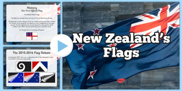 New Zealand's Flag PowerPoint