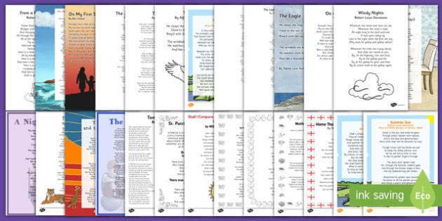 Poem Resource Pack