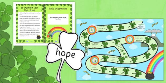St Patricks Day Discovery Sack - st patricks day, st patrick