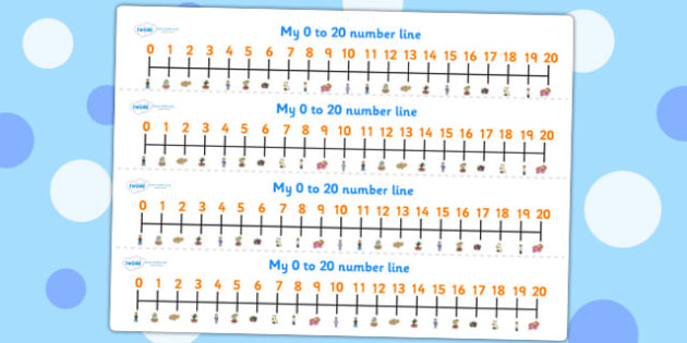 Oliver's Vegetables Number Lines 0 20 - stories, counting, maths