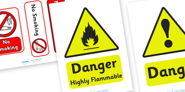 Petrol Station Safety Signs - petrol station, safety sign, sign, safety, safe, cars, cars, oil, pump, petrol, air pump, unleaded, diesel, car wash, flowers, snacks, newspapers