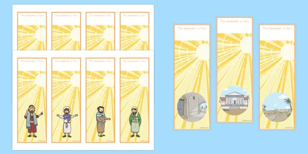 The Conversion of Saul Editable Bookmarks - usa, america, bookmark, activity, conversion, saul, bible stories