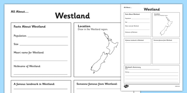 All About Westland Writing Frame - Westland, Anniversary, city, research