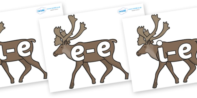 Split Digraphs on Caribous - Modifying E, letters, modify, Phase 5, Phase five, alternative spellings for phonemes, DfES letters and Sounds