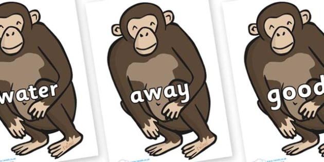 Next 200 Common Words on Chimps - Next 200 Common Words on  - DfES Letters and Sounds, Letters and Sounds, Letters and sounds words, Common words, 200 common words