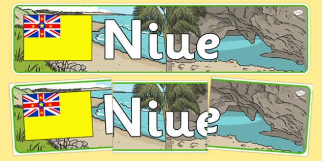 Niue Display Banner