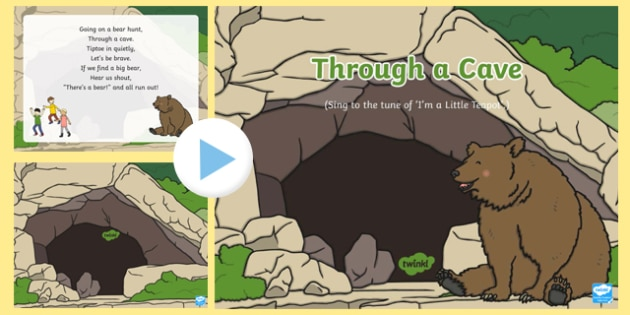 Through a Cave Song PowerPoint