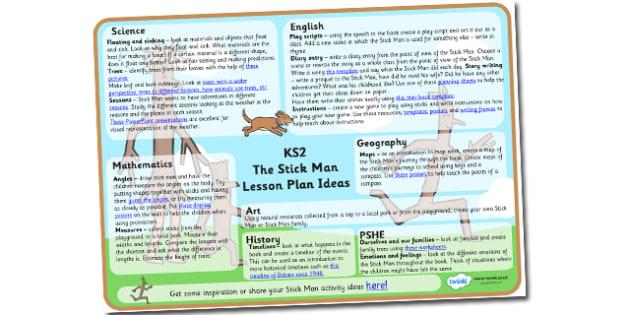 Stick Man Lesson Plan Ideas KS2-lesson plan, lesson ideas, stick man lesson plan, KS2 lesson plan, KS2 ideas, KS2 stick man, literacy