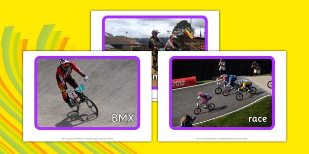 The Olympics BMX Display Photos - the olympics, rio olympics, 2016 olympics, rio 2016, bmx, display photos