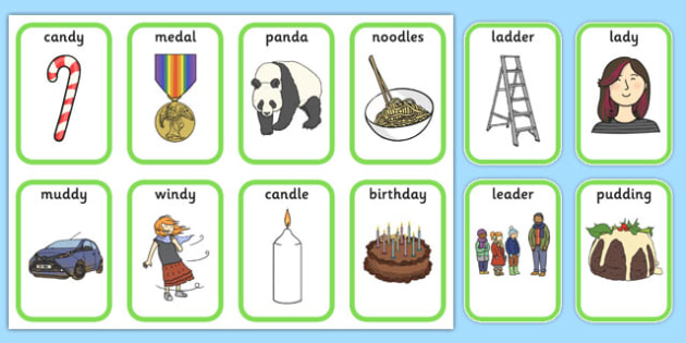 Medial 'd' Playing Cards - speech sounds, phonology, articulation, speech therapy, dyspraxia
