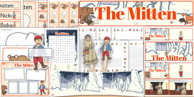 The Mitten Resource Pack - the mitten, resource pack, resource, pack