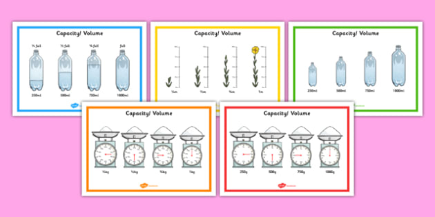 Fraction Measure Posters - fraction, measure, posters, display, numeracy