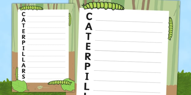Caterpillars Acrostic Poem - acrostic poems, acrostic poem, caterpillar, caterpillars, caterpillar acrostic poem template, caterpillar acrostic poem writing frames, minibeasts, minibeast, acrostic, poem, poetry, literacy, writing activity, activity