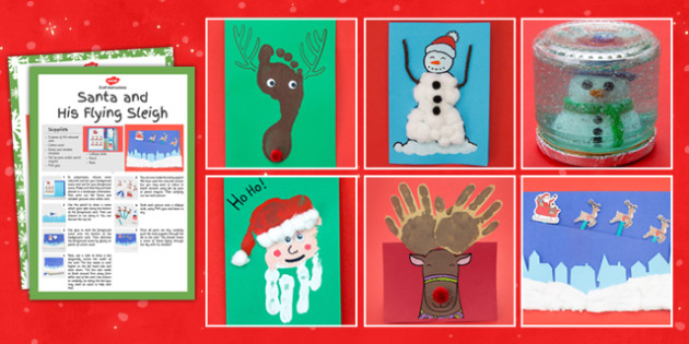 Christmas Craft Activity Pack - christmas, craft, activity, pack, christmas craft, activity pack