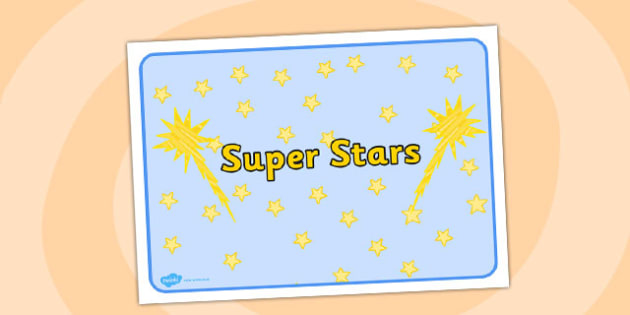 Super Stars Group Sign - group, sign, super, stars, super stars