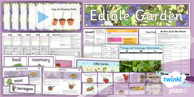 PlanIt - D&T LKS2 - Edible Garden Unit Pack