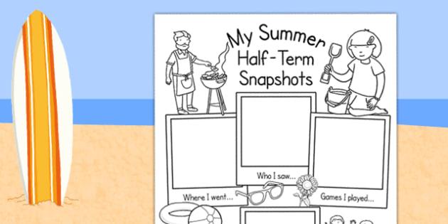 Summer Half Term Holiday Snapshots - half term, holiday snapshots, holiday, summer, summer half term