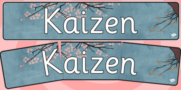 Kaizen Display Banner - kaizen, display banner, display, banner