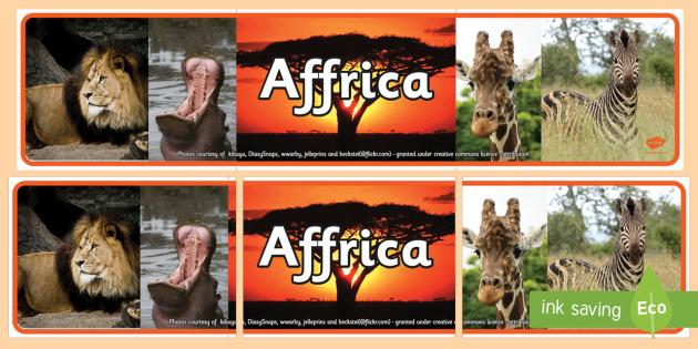 Baner Arddangosfa Ffotograffau Affrica - Dysgu Cymraeg fel Ail Iaith, Affrica, Affricanaidd, lluniau, ffotograffau, Sypreis Affrica, Cymraeg,
