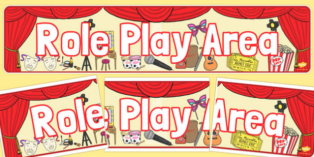 Role Play Display Banner - role-play, display banner, display, banner