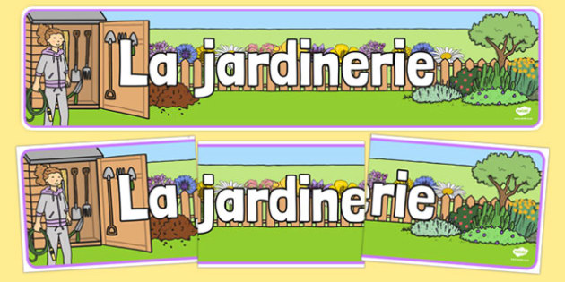 La jardinerie - french, Banner, display, garden centre, plants, plant, topic