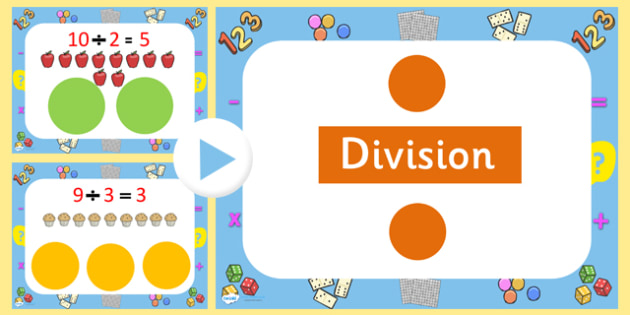 Division PowerPoint - division, powerpoint, powerpoint about