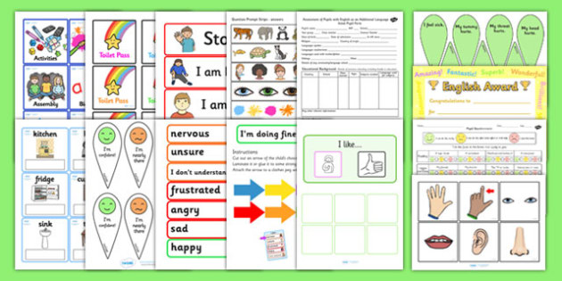 EAL Back to School Settling in Pack - transition, languages, EAL