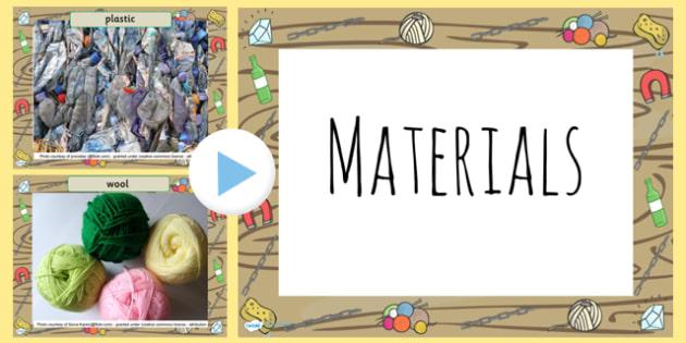 Materials Photo PowerPoint