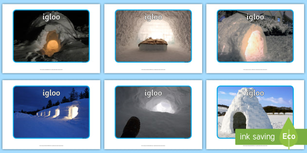 Igloo Display Photos - EYFS, Early Years, North Pole, South Pole, polar, Arctic, Antarctic