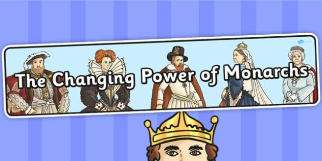 The Changing Power of Monarchs Display Banner - display, banner