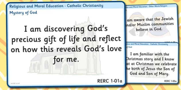 CfE Religious Moral Education Experiences Outcomes Display First
