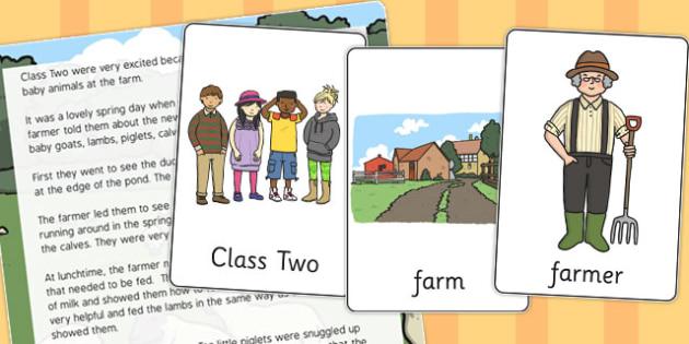 Farm Visit Listening Story - farm, visit, listening, story, listen