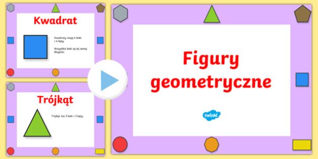 Prezentacja PowerPoint Własności figur geometrycznych płaskich