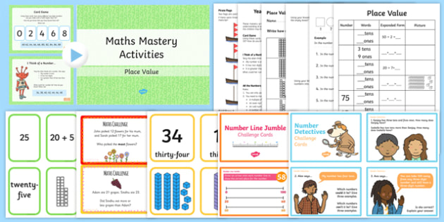 Top 10 Year 2 Place Value Resource Pack